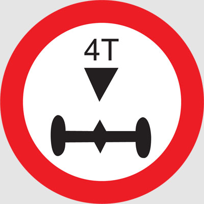 AXLE LOAD LIMIT